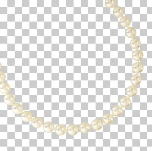 Pearl Body Jewellery Necklace Material PNG