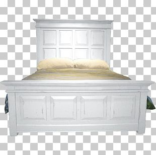 Bed Frame Platform Bed Bedroom Furniture PNG