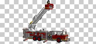 Fire Engine Los Angeles Fire Department Crane Ladder PNG