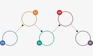 Ppt Color Geometric Infographic PNG