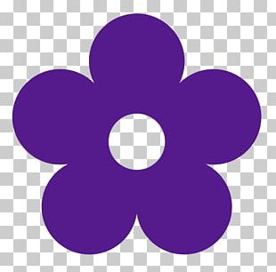 Purple Flower Free Content PNG