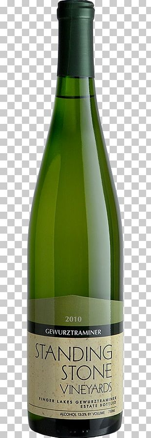 Champagne White Wine Glass Bottle PNG