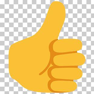 Emoji Thumb Signal Noto Fonts Android Nougat PNG