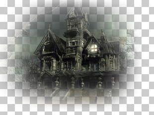 Haunted House Desktop PNG