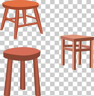 Table Chair Furniture Stool Euclidean PNG