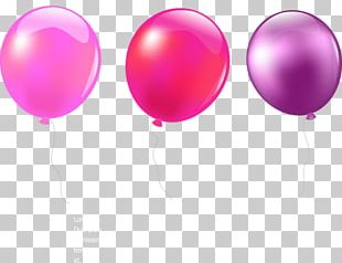 Balloon Color Animated Film PNG