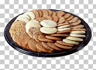 Biscuits Food Chocolate Brownie Tray Platter PNG