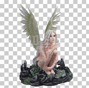 Fairy Figurine Statue Dragon Fantasy PNG