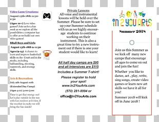 Summer Camp Art Camping Email PNG