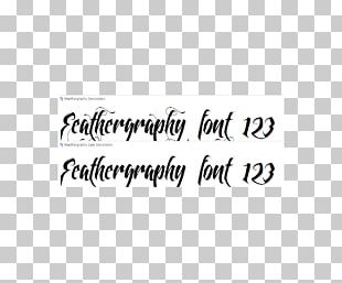 Calligraphy Font Family Script Typeface Swash Font PNG