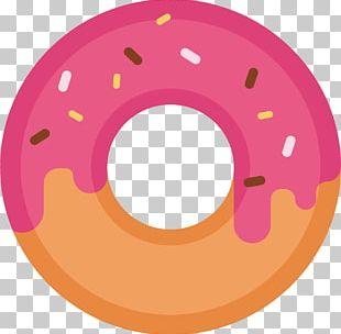 Doughnut Drawing Dessert Icon PNG
