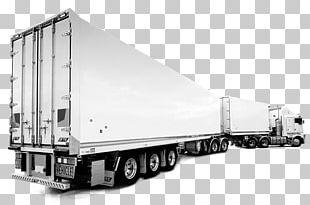 Trailer Cargo Transport Van PNG