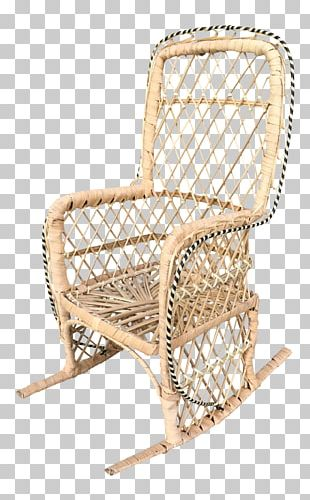 Chair Garden Furniture Wicker Product Design PNG
