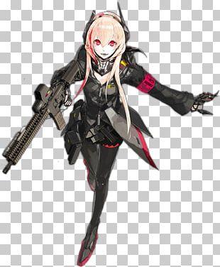 Girls' Frontline M4 Carbine SOPMOD Illustration PNG