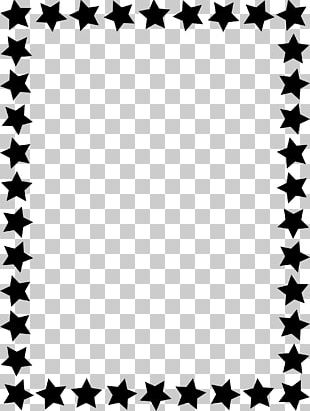 Borders And Frames Frames Star PNG
