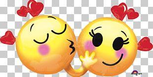 Emoticon Valentine's Day Emoji Smiley Heart PNG