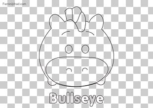 Disney Tsum Tsum Coloring Book Line Art Drawing Black And White PNG