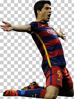 Luis Suárez 2015–16 FC Barcelona Season Rendering Football PNG