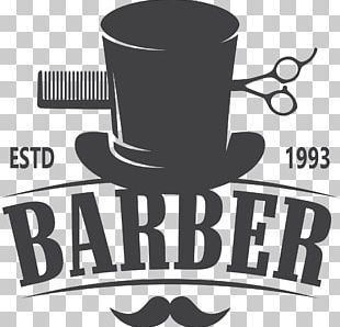 Barber Comb Hairdresser Hairstyle Logo PNG