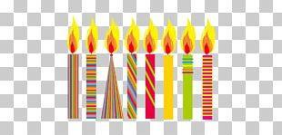 Candle Birthday Illustration PNG