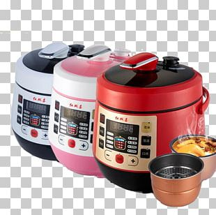 Rice Cooker Pressure Cooking Electricity Home Appliance PNG
