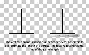 Vertical–horizontal Illusion Line Horizontal And Vertical Ruler Horizontal Plane PNG