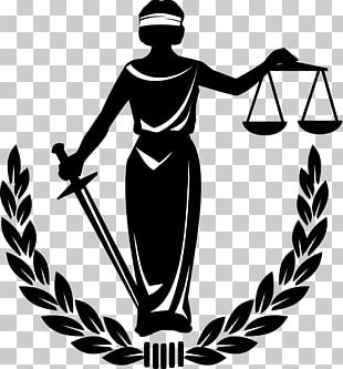 Lady Justice Measuring Scales PNG