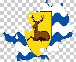 Reindeer Flag Of Hertfordshire Banner Of Arms PNG