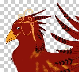 Rooster Character Beak PNG