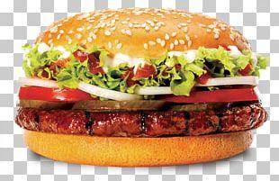 Hamburger Cheeseburger Buffalo Burger Breakfast Sandwich Fast Food PNG