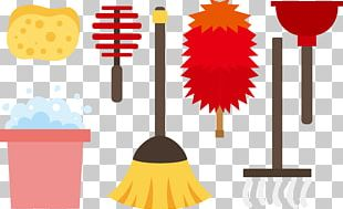 Feather Duster Cleaning Mop PNG