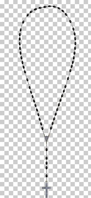 Cross Necklace Rosary Jewellery Crucifix PNG