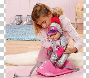 Toy Toddler Baby Born Interactive Infant Sled PNG