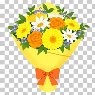 Birthday Floral Design Flower Bouquet Illustration Cut Flowers PNG