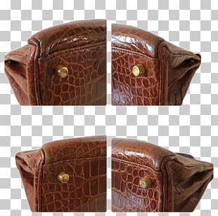Handbag Coin Purse Leather Caramel Color PNG
