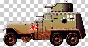 Second World War Armored Car Type 92 Heavy Armoured Car Type 93 Armoured Car PNG