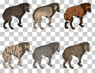 Striped Hyena African Wild Dog Pit Bull Puppy PNG