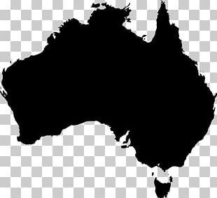 Australia World Map PNG
