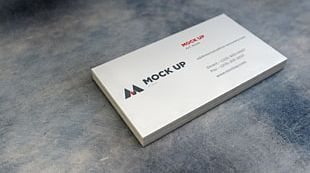 Mockup Business Cards Logo PNG