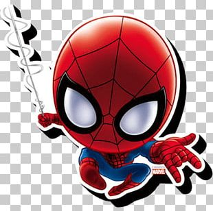 Spider-Man Chibi Miles Morales Drawing PNG