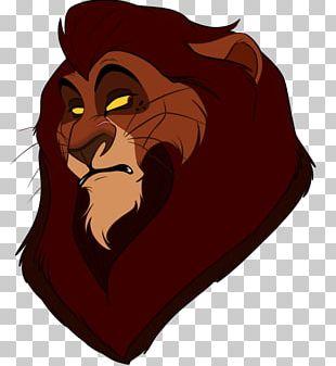 Lion Black Panther Cougar Cat PNG