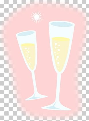 Champagne Glass Sparkling Wine Martini PNG