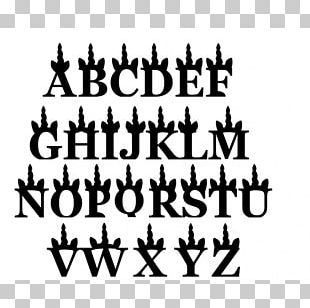 Letter Typography Georgia Calligraphy Font PNG