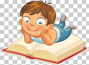 Child Drawing Book Reading PNG