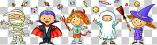 Halloween Costume Child Trick-or-treating Illustration PNG