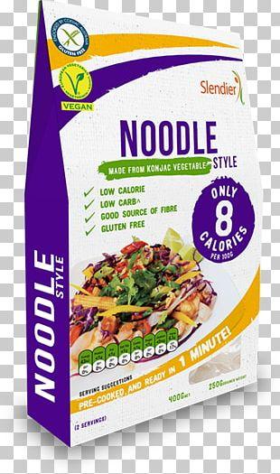 Pasta Organic Food Konjac Shirataki Noodles PNG