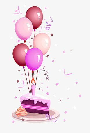 Purple Balloon Decoration PNG