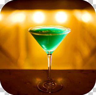 Cocktail Garnish Martini Appletini Gimlet PNG