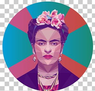 Low Poly Portrait Graphic Designer Artist PNG