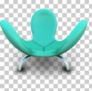 Turquoise Chair Furniture PNG